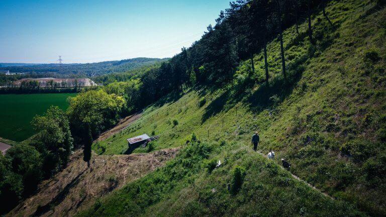 À la découverte de la montagne Saint Pierre (Eben-Emael)