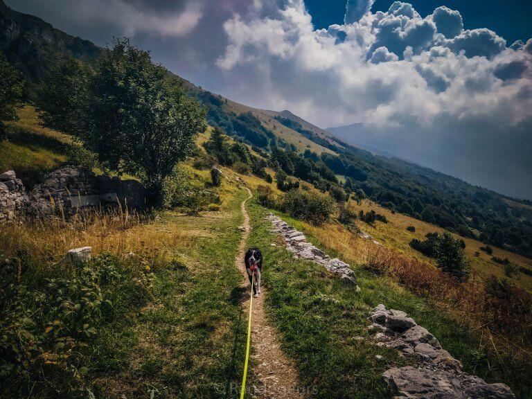 Notre première ascension de montagne (le Monte Baldo)